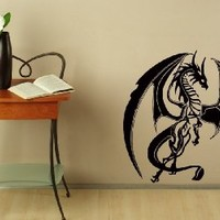 Wall Decals Vinyl Sticker Decal Cartoon Mural Art Design Dragon Sign Bedroom Dorm Chu1402