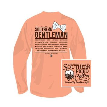 Palmetto Moon | Southern Fried Cotton Southern Gentlemen Long Sleeved T-shirt | Palmetto Moon