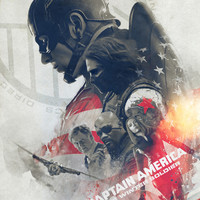 The Winter Soldier Art Print by Laura Racero | Society6