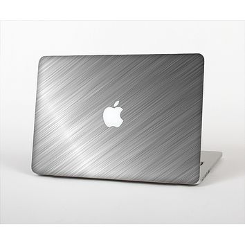 The Silver Brushed Aluminum Surface Skin Set for the Apple MacBook Air 13""