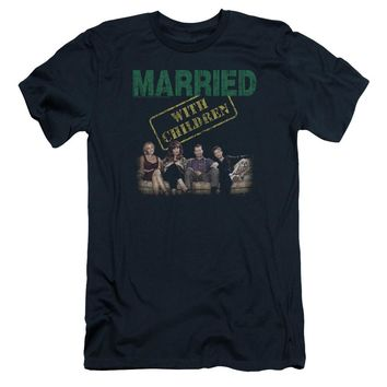 Married With Children - Vintage Bundys Short Sleeve Adult 30/1