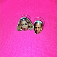 SWEET LORD O'MIGHTY! BEYONCE & JAYZ EARRINGS