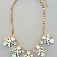Riezni Crystals Necklace