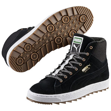 Suede Winterized Rugged Mid Women's Sneakers, buy it @ www.puma.com