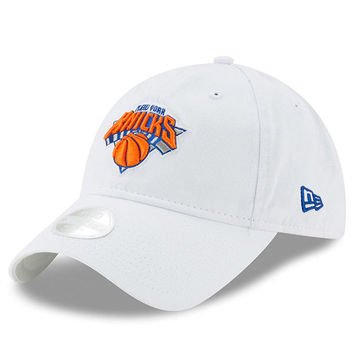 New York Knicks New Era Women's Preferred Pick 9TWENTY Adjustable Hat - White