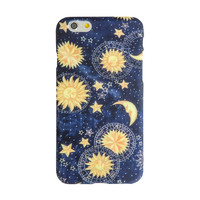 Blue Multicolor Sun Moon Sky Magical iPhone 6S/ 6 case