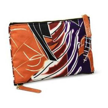Sonia Kashuk® Cosmetic Bag 2-Zip Purse Kit Artwork