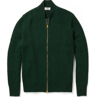 Acne Chet Zip Wool Cardigan | MR PORTER
