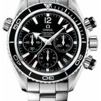 Omega - Seamaster Planet Ocean 600 M Co-Axial Chronograph 37.5 mm - Stainless Steel