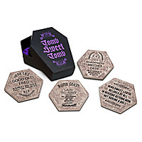 The Haunted Mansion Coaster Set