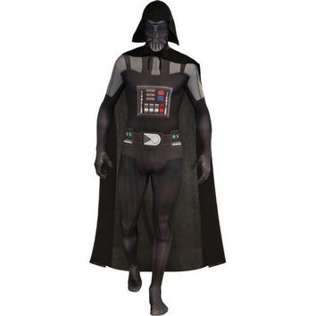 Costume Morphsuit: Darth Vader Skin Suit | XL