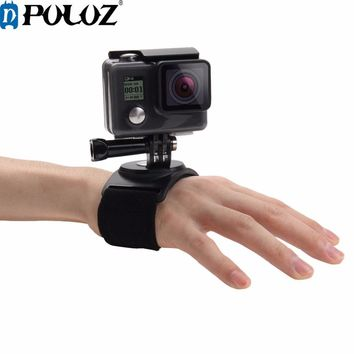 For Go Pro Accessories Hand Wrist Arm Leg Straps 360-degree Rotation Mount for GoPro HERO5 HERO4 Session HERO 5 4 3+ SJ4000