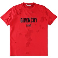 Givenchy Women or Men Fashion Casual Loose Short sleeve