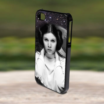 Accessories Print Hard Case for iPhone 4/4s, 5, 5s, 5c, Samsung S3, and S4 - Beautiful Princess Leia Star Wars