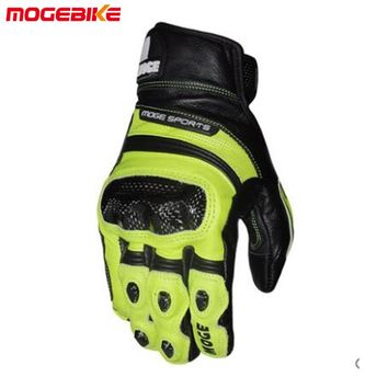 Hot selling Cool motorcycle gloves moto racing gloves knight leather ride bike driving bicycle cycling Motorbike