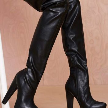 Jeffrey Campbell Zahara Thigh High Boot