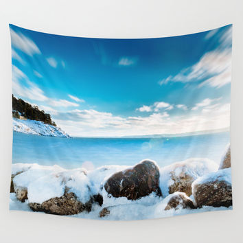 Awakening Wall Tapestry by HappyMelvin