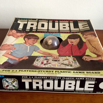 1965 Complete Trouble with Box.