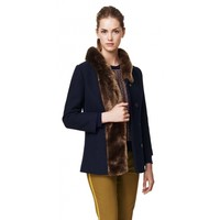 You Only Live Luxe Coat