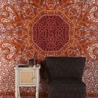 UrbanOutfitters.com > Paisley Heart Medallion Tapestry