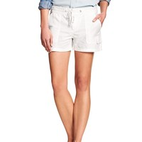Banana Republic Womens Factory Linen/Cotton Cargo Short