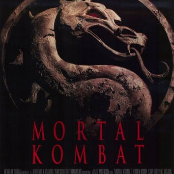 Mortal Kombat 11x17 Movie Poster (1995)