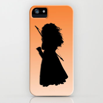Disney Princess - Merida (Brave) iPhone & iPod Case by Sarah and Bree