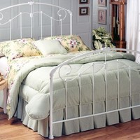 Sullivan White Bed - Beds -  Bedroom Furniture -  Furniture | HomeDecorators.com