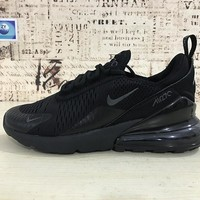 Nike Air Max 270 Triple Black Running Shoes - Best Deal Online