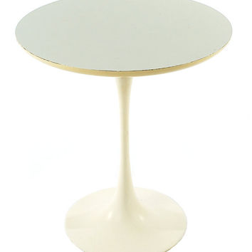 Authentic Mid Century Modern Eero Saarinen for Knoll Tulip Side Table