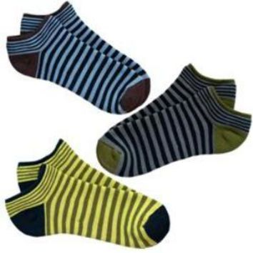 Striped Cush Footies