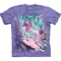 Unicorn Mountain Collage Kids T-Shirt