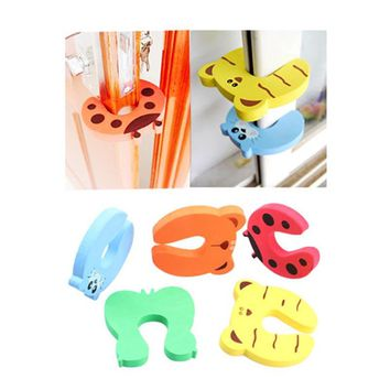 Baby Safety Door Stop Finger Pinch Safety Guard 4 Piece