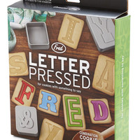 Fred Scholastic You Letter Believe It Cookie Cutter Set