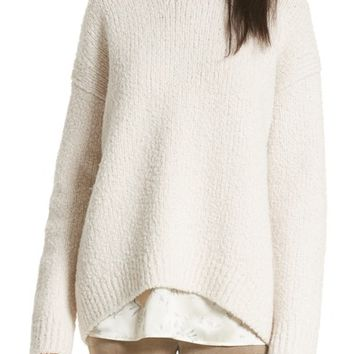 Vince Textured Wool Sweater | Nordstrom