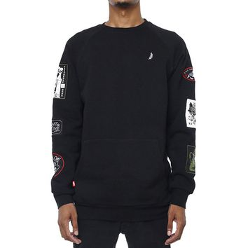 Grief Patched Out Sweatshirt Black