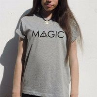 MAGIC Harry potter t shirt