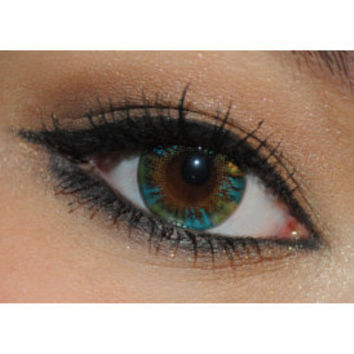 NEO Lucky Clover Green Circle Lenses Colored Contacts Cosmetic Color Circle Lens