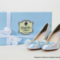 Cinderella Couture Style Adult Costume Pair Pumps by Bbeauty79