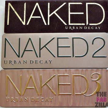 Naked 12 AND 3 Eye Shadow With Brush