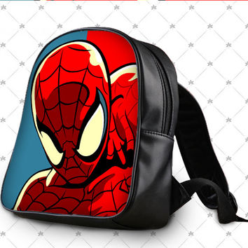 Spiderman justice league School Bag