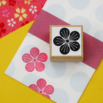Rubber stamp for your Filofax, Hobonichi techo,Erin Condren life planner, KikkiK , and calendar. Japanese style no.26