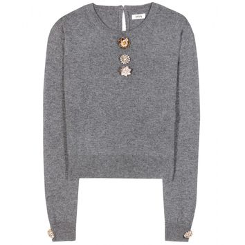 issa - freya wool and cashmere sweater
