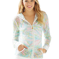 Tides Mesh Hoodie - Lilly Pulitzer