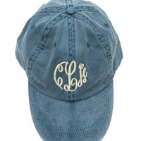 Chill And Thrill Hat, Denim