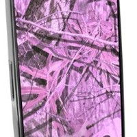 Hardwood Camo Pink Black I-Phone 4 & 4S Case from Redeye Laserworks I-Phone Cases