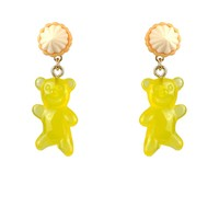 N2 by Les Néréides CANDY MONSTER GUMMY BEAR EARRINGS