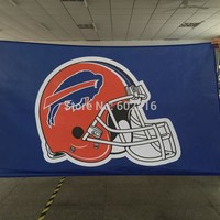 Buffalo Bills Large Outdoor Team Flag 3ft x 5ft Football Hockey USA Flag
