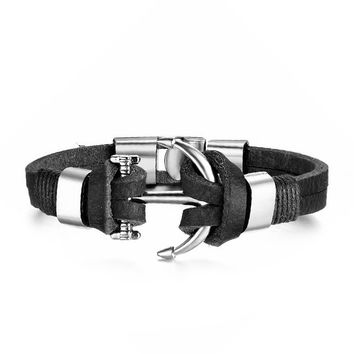 Anchor II Black & Silver
