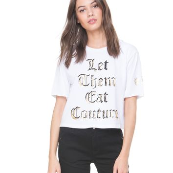 Let Them Eat Couture Graphic Tee